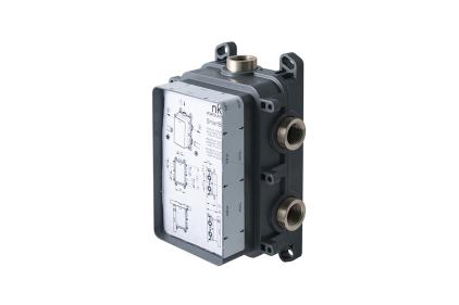 """SMART BOX SLIM Універсальний вбудований корпус для термостатичного змішувача на 1-3 виходи, підключення 1/2"""" (100238318)"""
