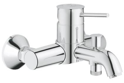 Змішувач BAU CLASSIC для ванни настінний (32865000)