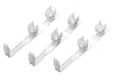 Комплект настінного кріплення 3 x SMB2T для Charleston H 1501-2200 мм (173611) RAL9016