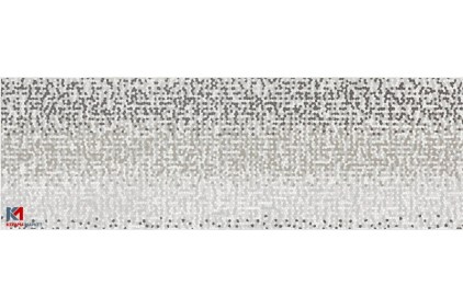 MIRROR GREY INSERTO GEO  25х75 (плитка настінна, декор)