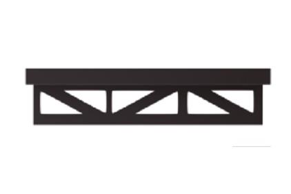 Декоративний профіль PRO-PART CAST IRON 11 mm