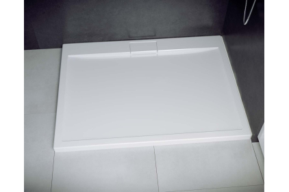 Піддон прямокутний AXIM 120x90х4,5 + сифон