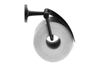 Тримач паперу STARCK T закритий чорний матовий (0099404600)