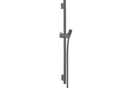 Душевая штанга Unica S Pura 65 см со шлангом 160 см Brushed Black (28632340)