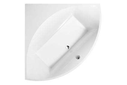 SQUARO Ванная 1450 * 1450 угловая с ножками + панель, Quaryl (UBQ 145 SQR 3V-01)