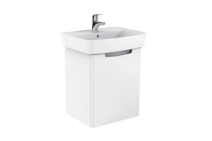 Комплект  REKORD: умивальник + тумба 50 см біла (К99025000)