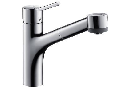 Смеситель Talis S для кухни с вытяжным душем (32841000)