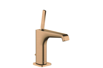 Смеситель Axor Citterio E 125 для раковины Brushed Bronze 36100140