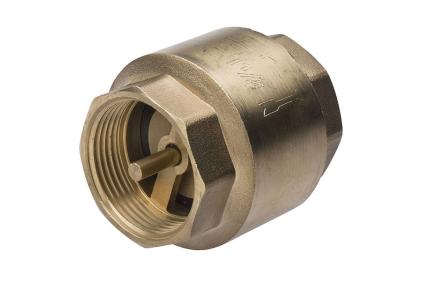 Клапан зворотний FERRO 3/4 з латунним штоком  ZZM2