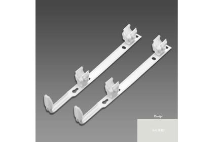Комплект настінного кріплення 2xSMB50 для Charleston H 485-679 мм (173549) RAL9002 qloss GreyWhite
