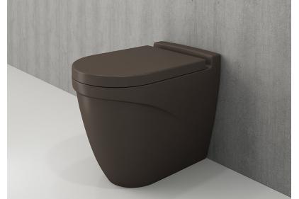 Унитаз напольный TAORMINA ARCH матовый коричневый (1016-025-0129)