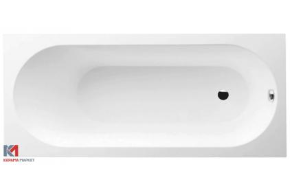 OBERON Ванная 1600 * 750 в комплекте с ножками, Quaryl. (UBQ160OBE2V-01)