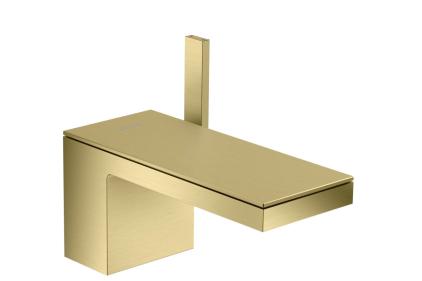 Смеситель Axor MyEdition 70 для раковины без накладки, Brushed Brass 47012950