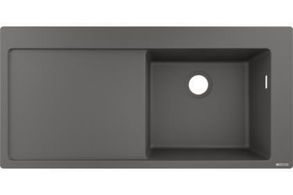 Кухонна мийка S514-F450 1050х510 полиця ліворуч Stonegrey (43314290)