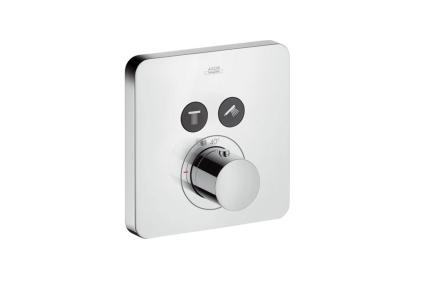 Термостат для двух потребителей Axor ShowerSelect скрытого монтажа 36707000