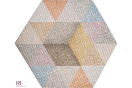 HEXAGON 34.6х40 (плитка для підлоги і стін) RAIN Mix