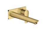 Смеситель Talis E для раковины из стены скрытого монтажа 225 мм Polished Gold Optic (71734990)