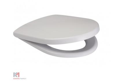 Сидіння для унітазу ПАРВА дюропластове антибактеріальне