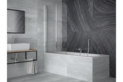 Шторка для ванни Prime 2S 90x140 прозора