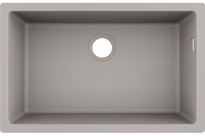 Кухонна мийка S510-U660 під стільницю 710х450 Concretegrey (43432380)