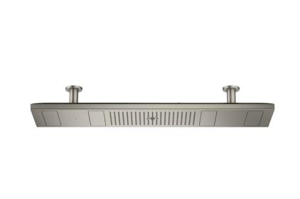 Верхний душ Axor ShowerHeaven 1200х300 4jet с подсветкой 3500 K, Brushed Black Chrome (10629340)