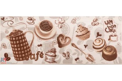 RACHEL 20х50 (декор: кофе/пирожные) Boncafe BC