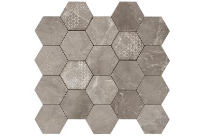 MAJESTIC HEXAGON SUPREME GREY LEV 34х36 (02618) (шестигранник)