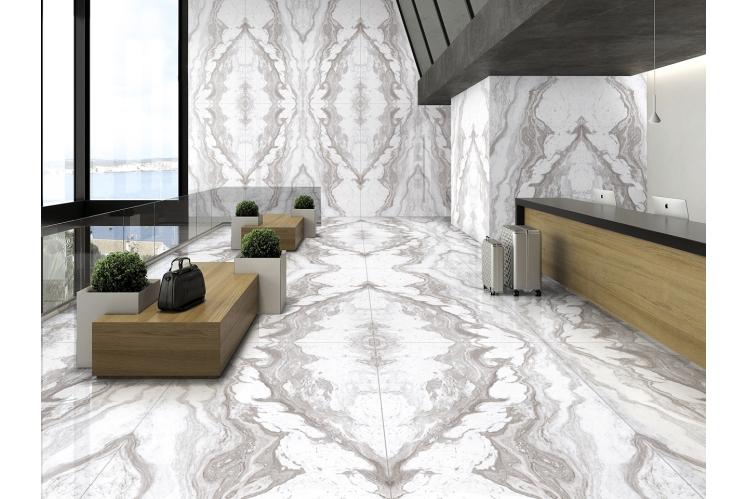 Плитка для підлоги під мармур, травертин і камінь формату 120х240 CERAMA MARKET. Фото 12