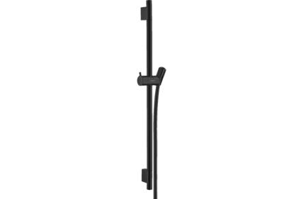 Душевая штанга Unica S Pura 65 см со шлангом 160 см Matt Black (28632670)