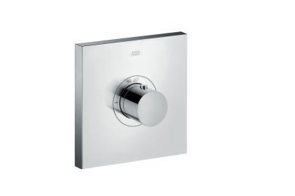 Термостат Axor ShowerSelect Highflow square скрытого монтажа хромированный 36718000