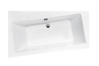 Ванна акрилова INFINITI 150х90 Ліва (соло) без ніг