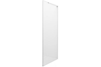 Душова стінка METROPOLIS 100х195 хромована/прозора, 8мм (AMP3510012M)