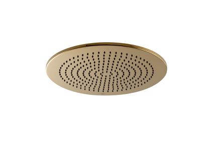 RONDO Верхній душ круглий 30 см.: кульове з'єднання, колір золотий (100238749)