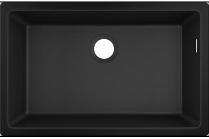 Кухонна мийка S510-U660 під стільницю 710х450 Graphiteblack (43432170)