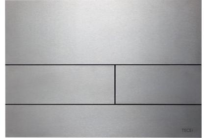 Панель змиву TECEsquare II з двома клавішами матова, нержавіюча сталь (9240830)