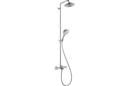 Душевая система Raindance S 240 1Jet с термостатом для ванны Showerpipe (27117000)