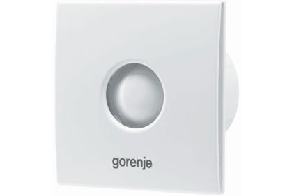 Вентилятор GORENJE BVX 100 WS (с обратным клапаном, без шнурка) белый