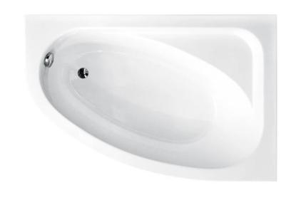 Ванна акрилова CORNEA 140х80 Права (соло) без ніг