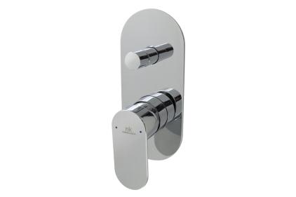 HOTELS Зовнішня частина вбудованого змішувача для ванни/душу, хромована (100123914)