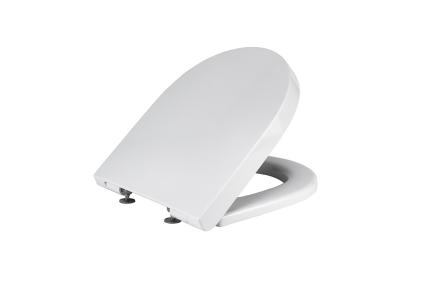 ACRO COMPACT Сидіння для унітазу з функцією Soft-Close біле (100253386)
