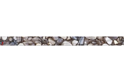 171301 WANAKA 40х3 (фриз рельєфний бежевий) (каміння)