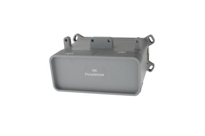 """SMART BOX Універсальний вбудований корпус для монтажу змішувача для умивальника, підключення 1/2"""" (100144928)"""