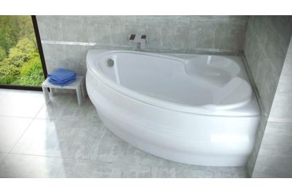 Ванна акрилова WENUS FINEZJA 140х95 Права (соло) без ніг і обудови