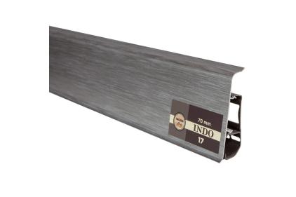 ПЛІНТУС INDO Алюміній 2500х70х26