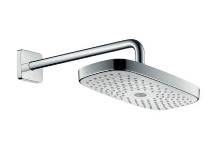 Верхний душ Raindance Select 300 мм с держателем хромированный/белый (27385400)