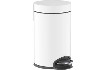 AddStoris Відро для сміття 3L Matt White (41775700)