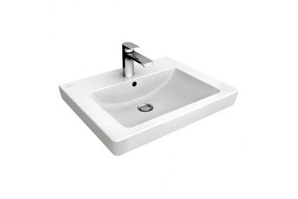 SUBWAY 2.0 Раковина мебельная 600x470 мм (7113F0R1) Ceramic Plus