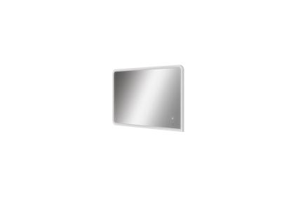 PURE LINE WOOD Зеркало 80х50 см + LED подсветка 6000К + динамика + Bluetooth / IP44, 50Вт (100207751)