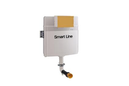 Smart-line Сливной бачок скрытого монтажа 6 / 3L 8.5 см. (100159529)