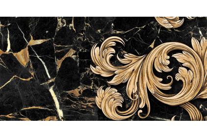9АС321 SAINT LAURENT 2 30х60 (декор черный)